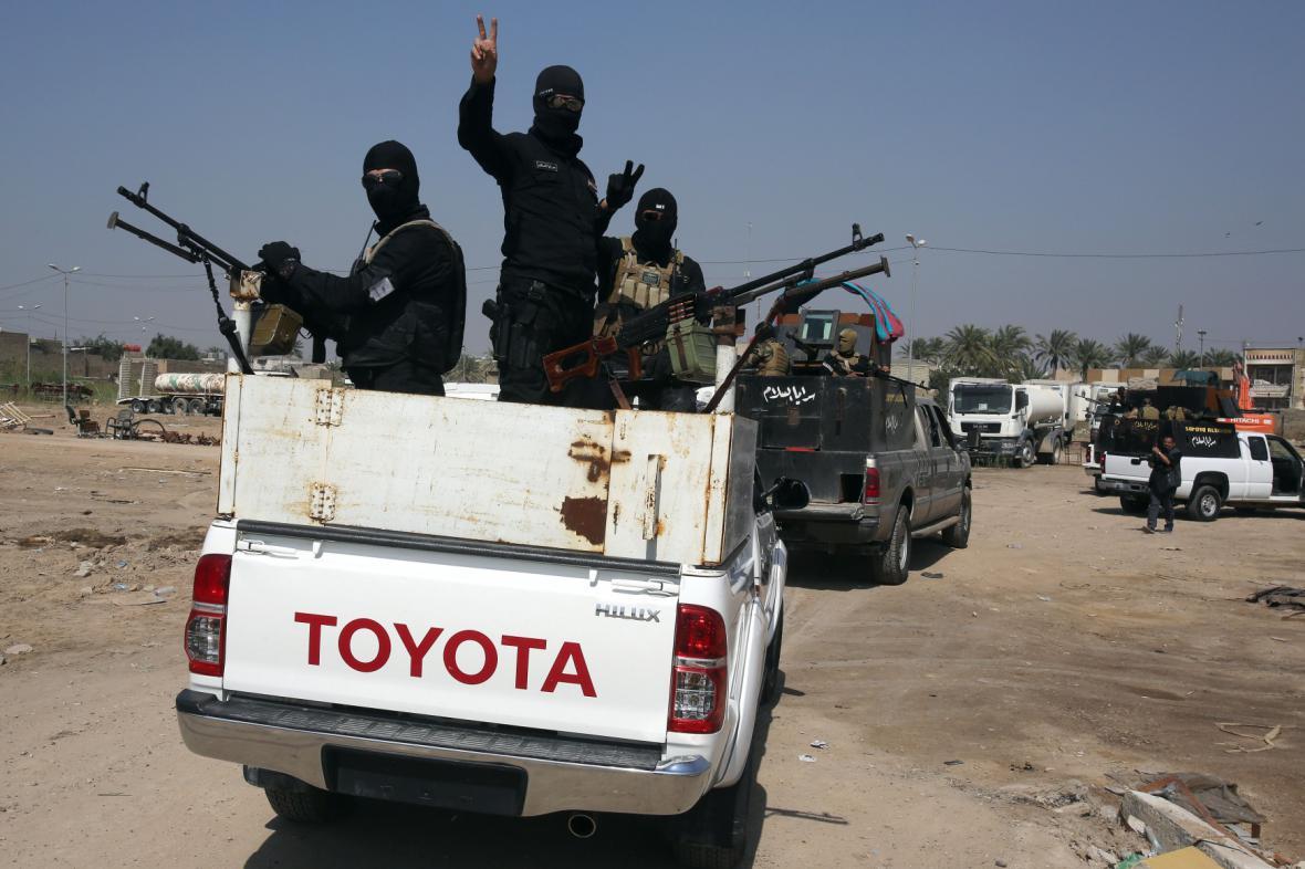 Do boje s Islámským státem se zapojily šíitské milice