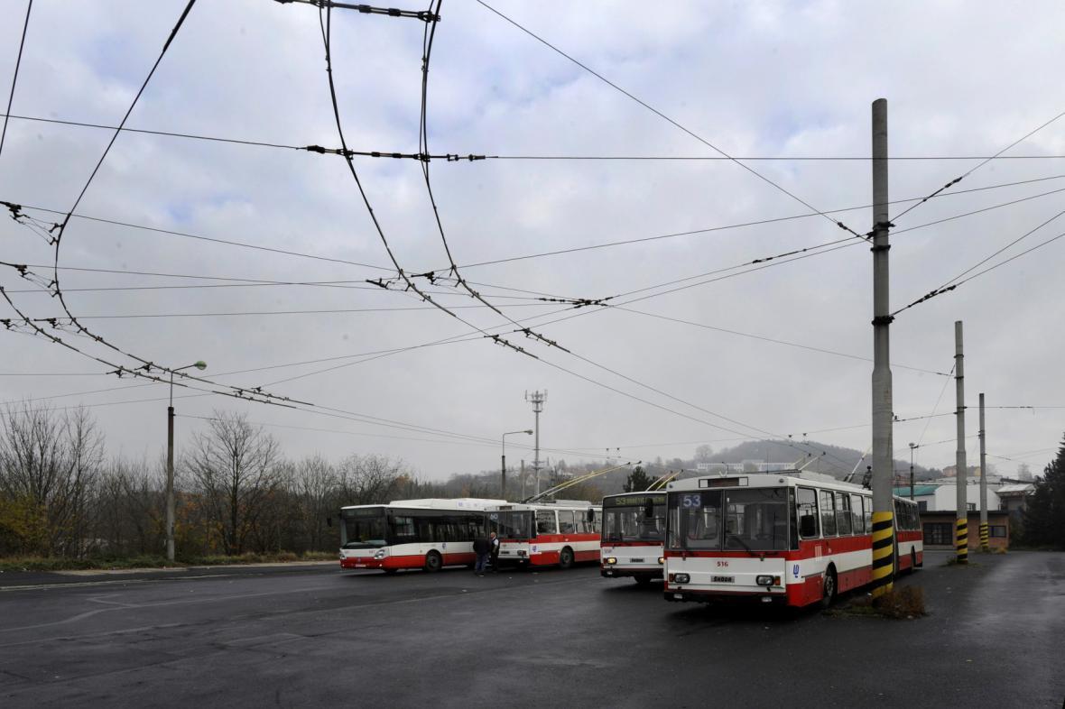 Ústecké trolejbusy