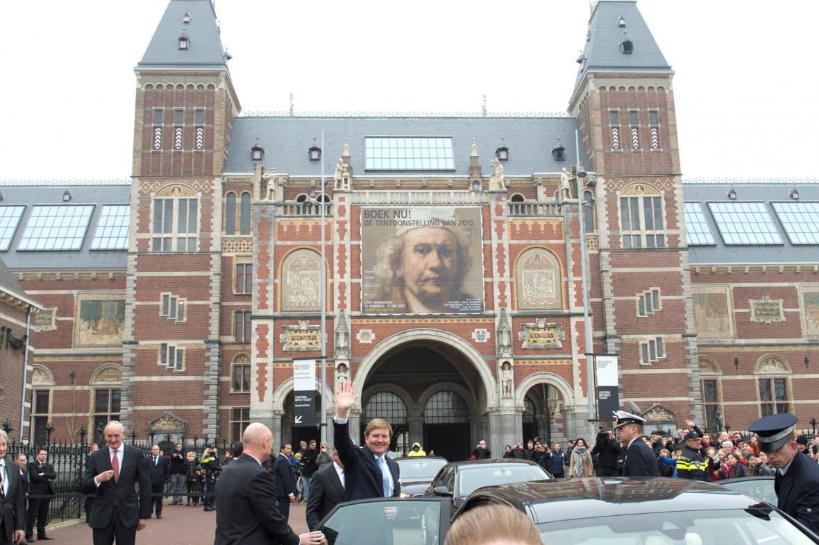 Rijsk museum vystavuje Rembrandta