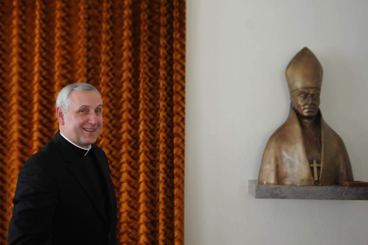 Nový českobudějovický biskup Vlastimil Kročil