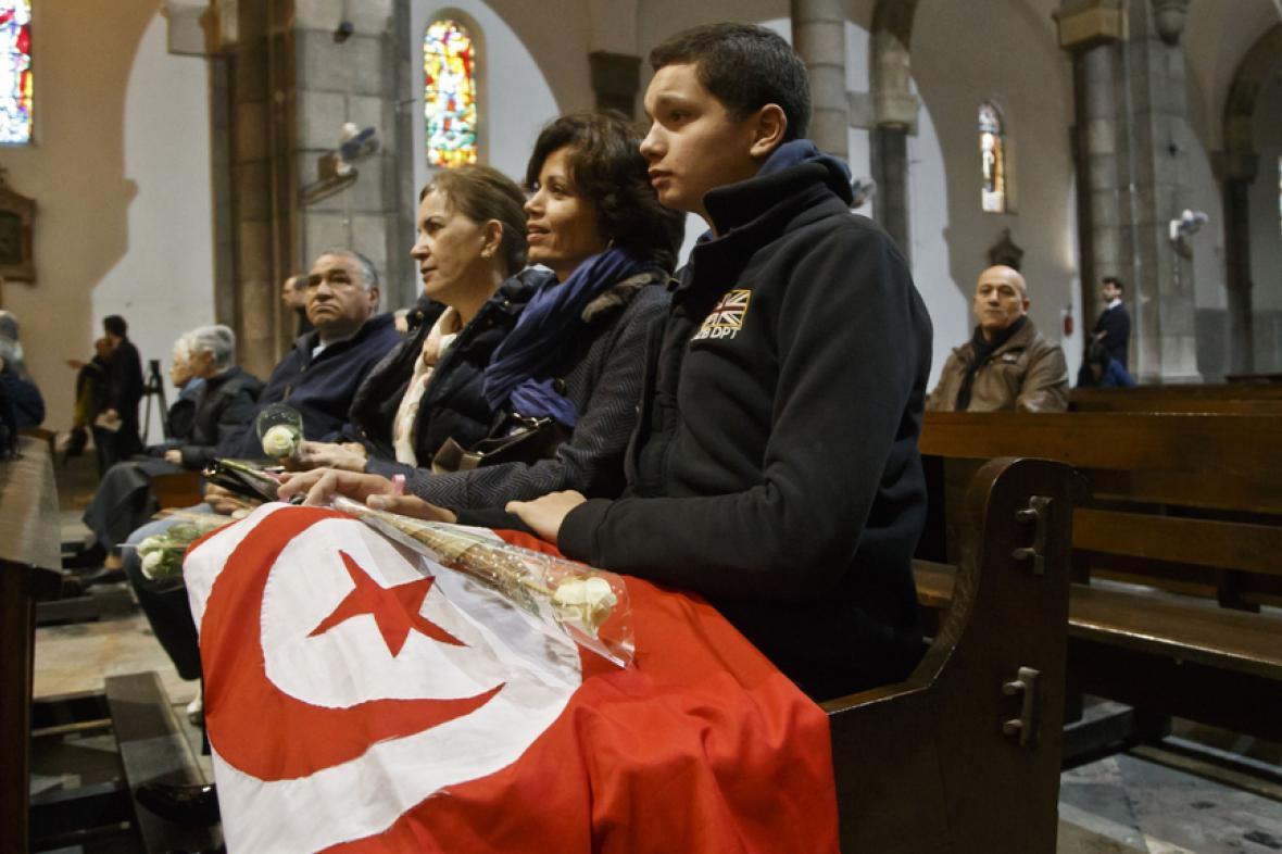 Mše za oběti tuniského útoku
