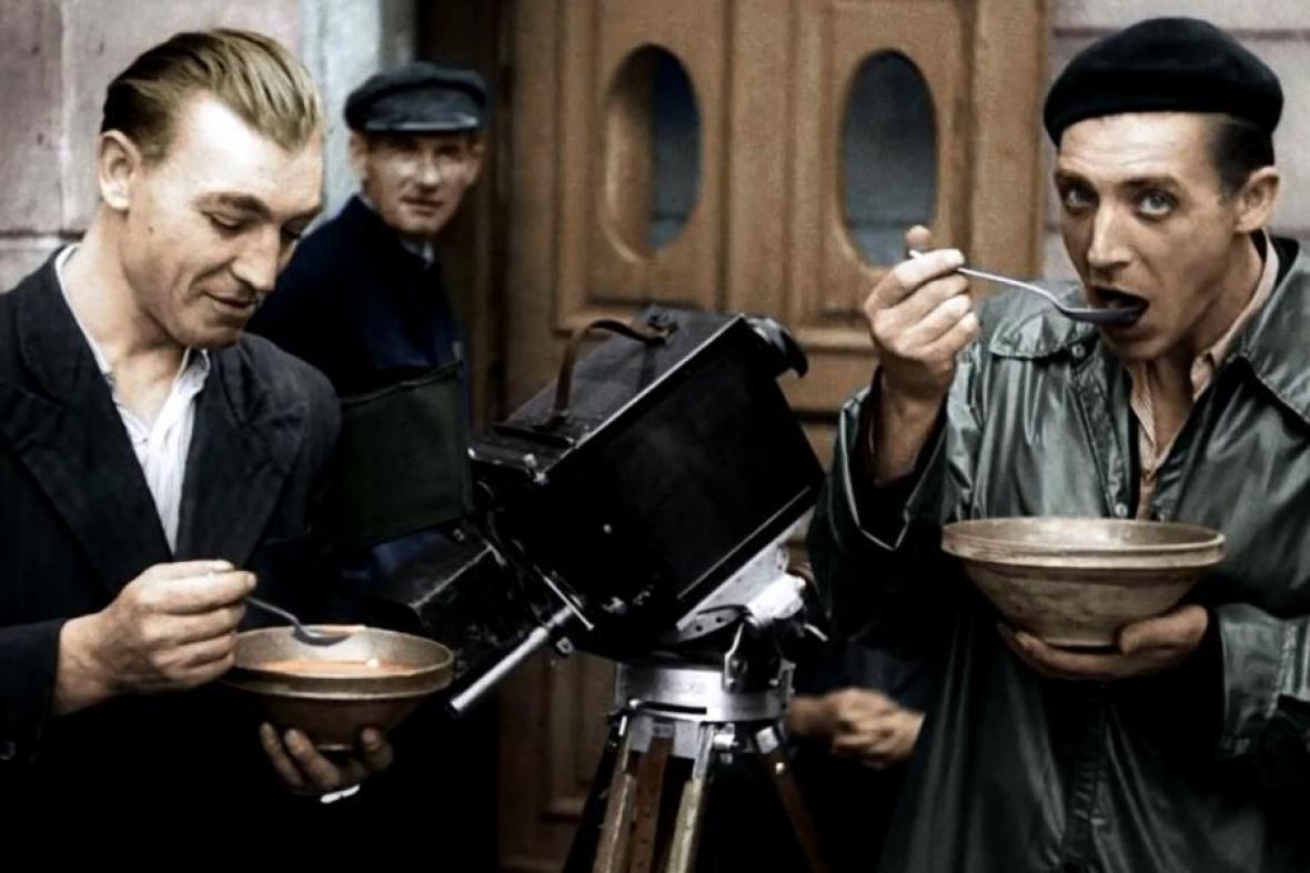 Z filmu Varšavské povstání
