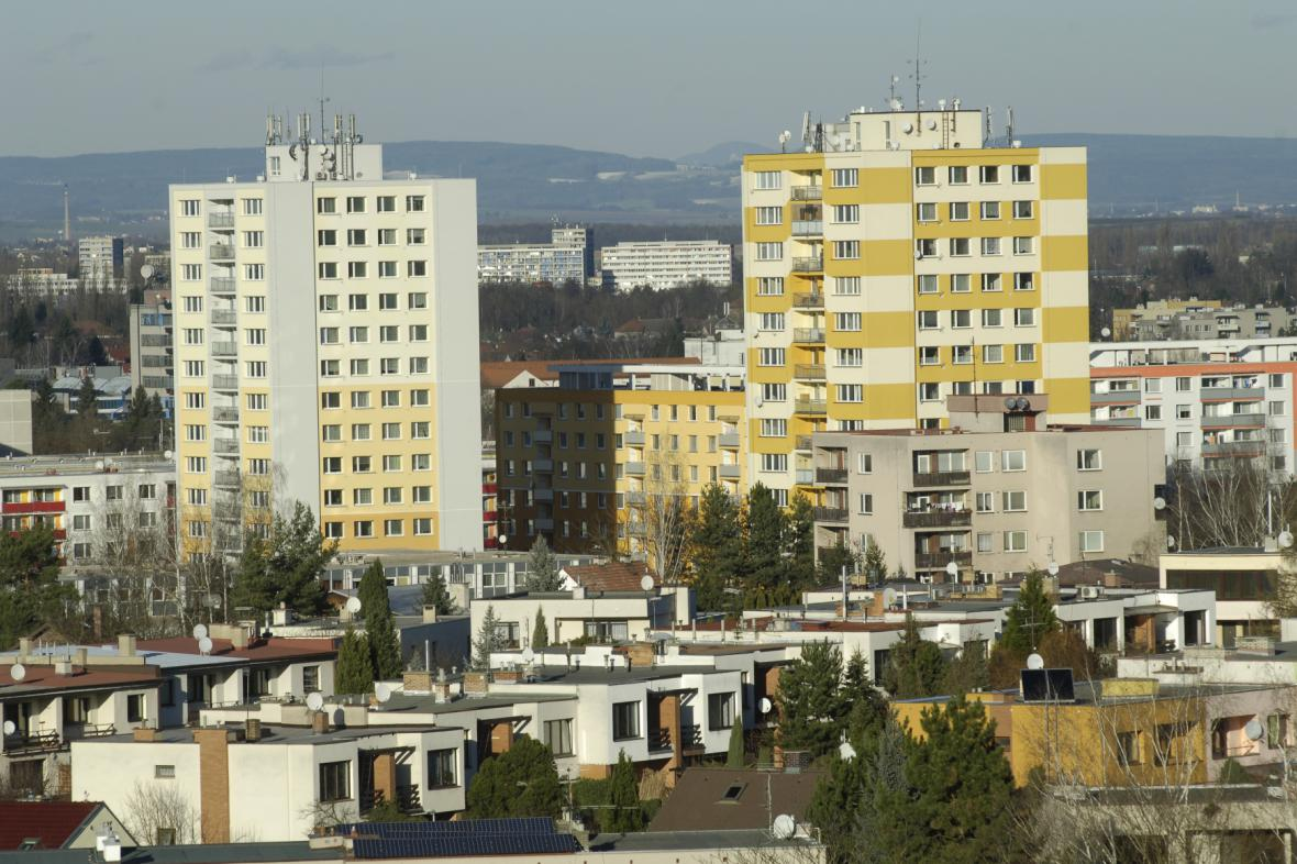 Panelové domy v Hradci Králové