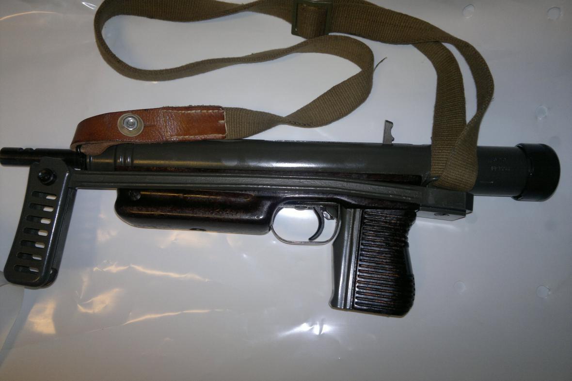 Předválečný československý samopal