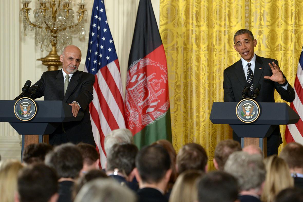 Ašraf Ghaní a Barack Obama