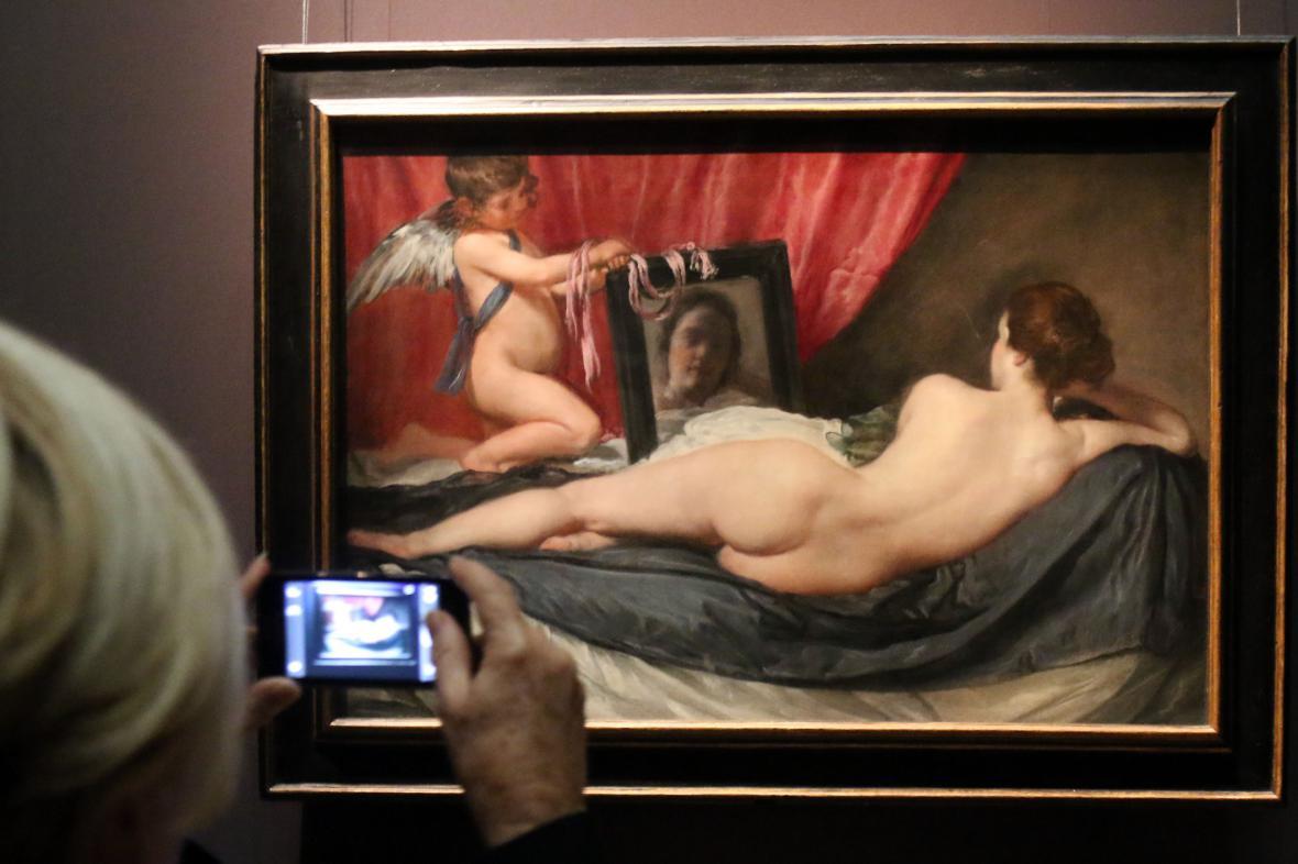 Diego Velázquez / Venuše před zrcadlem