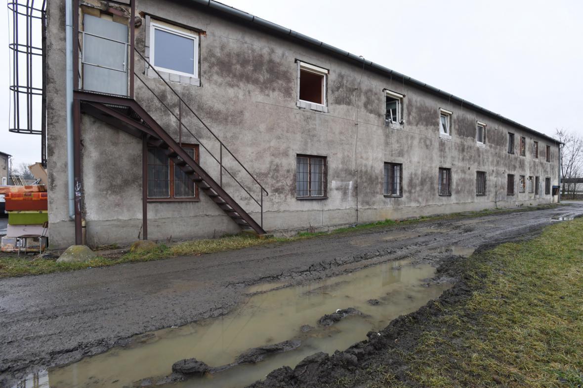 Ubytovna v Dluhonské ulici v Přerově