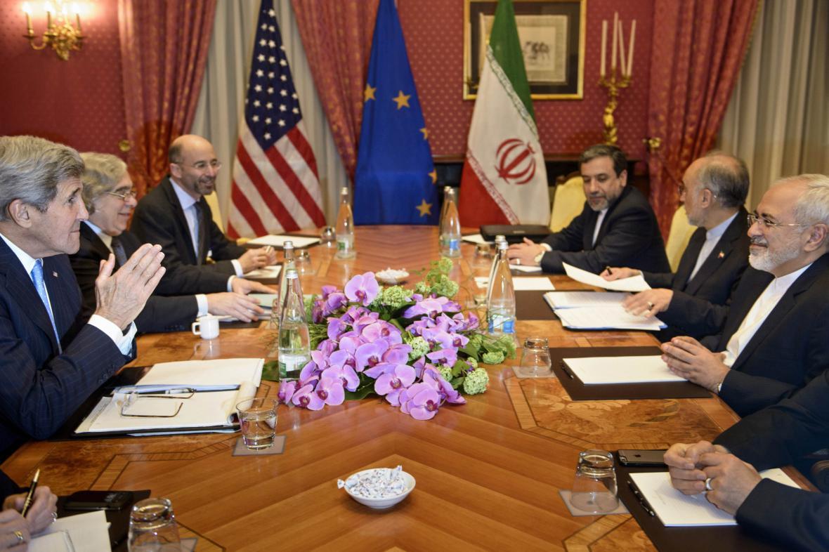 Schůzka diplomatů ohledně íránského jádra