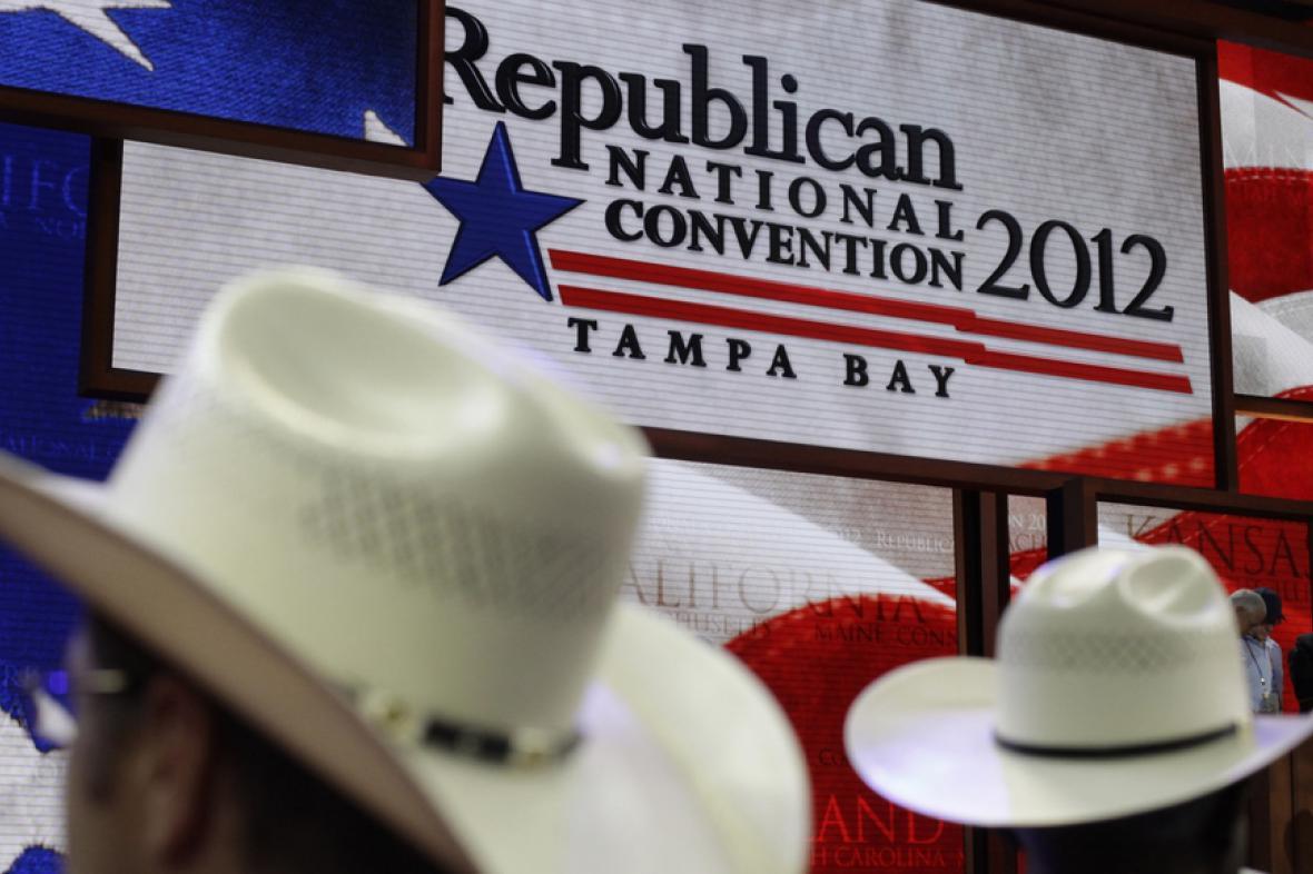 Sjezd republikánů v roce 2012