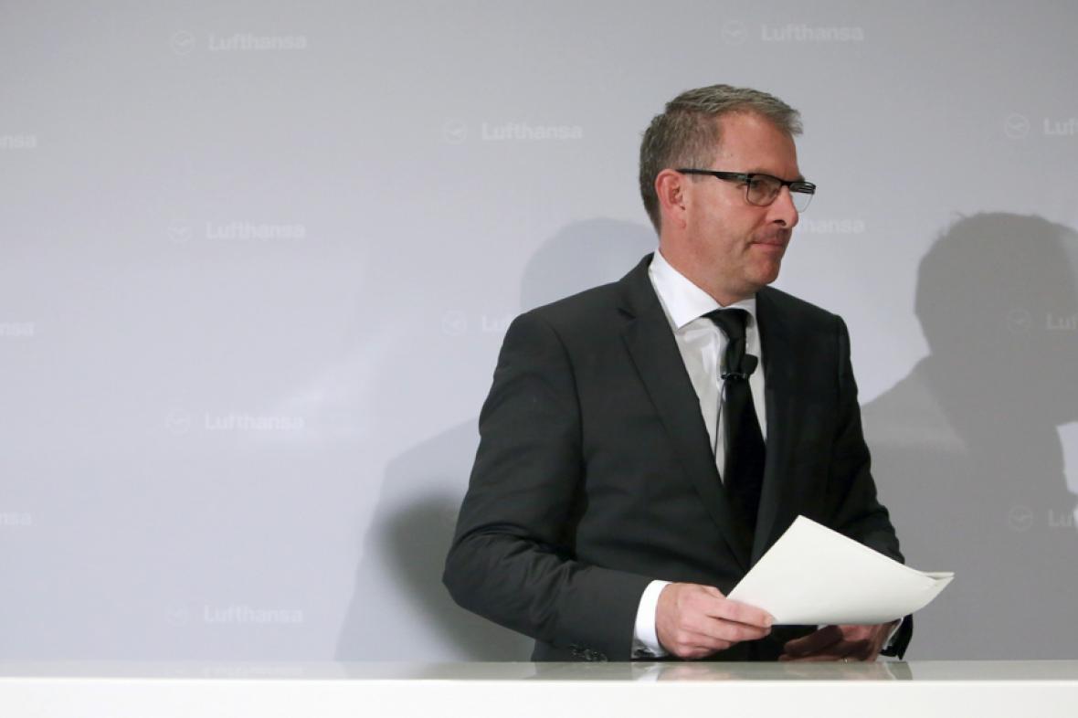 Šéf Lufthansy Carsten Spohr