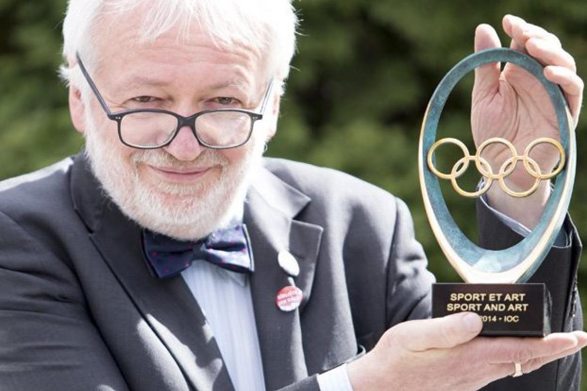 Rostislav Švácha s Cenou Mezinárodního olympijského výboru