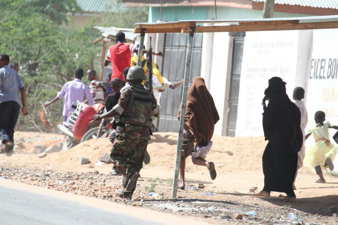 Útok na keňské univerzitě