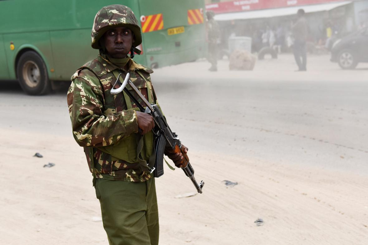 Keňský voják
