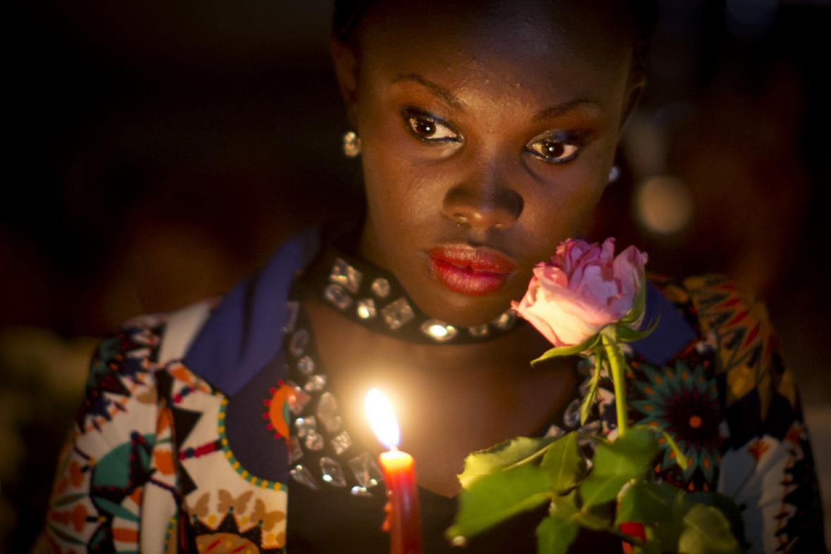 Pieta za oběti útoku v Garisse