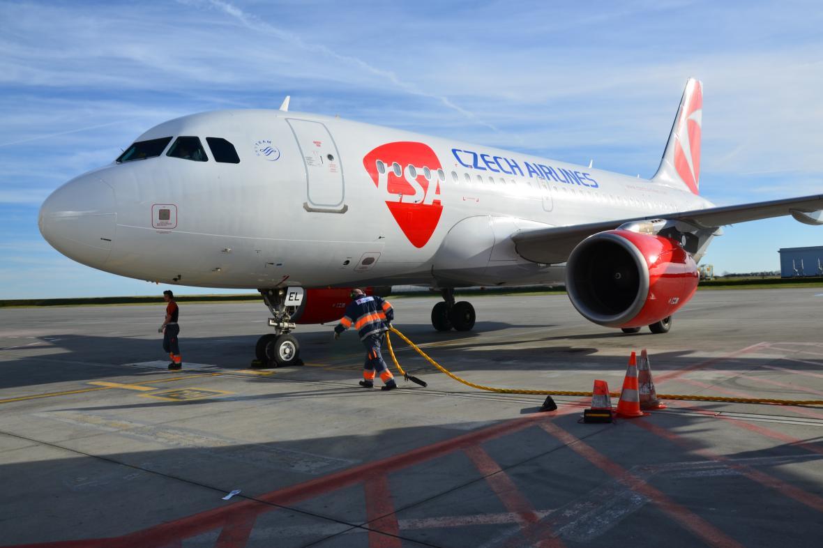 Airbus A319 Českých aerolinií