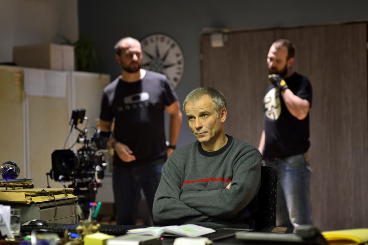 Natáčení seriálu Místo zločinu Plzeň
