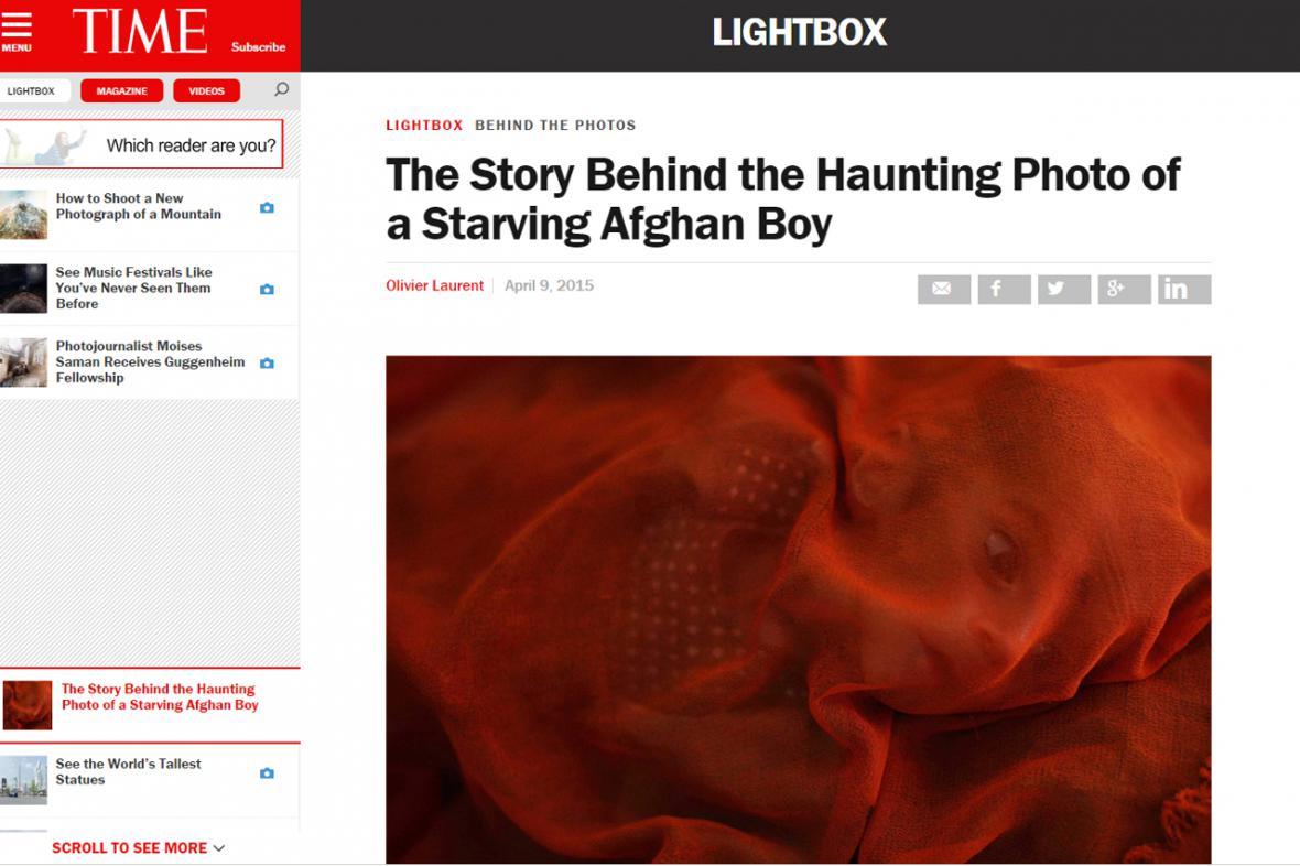 Fotografie z časopisu TIME