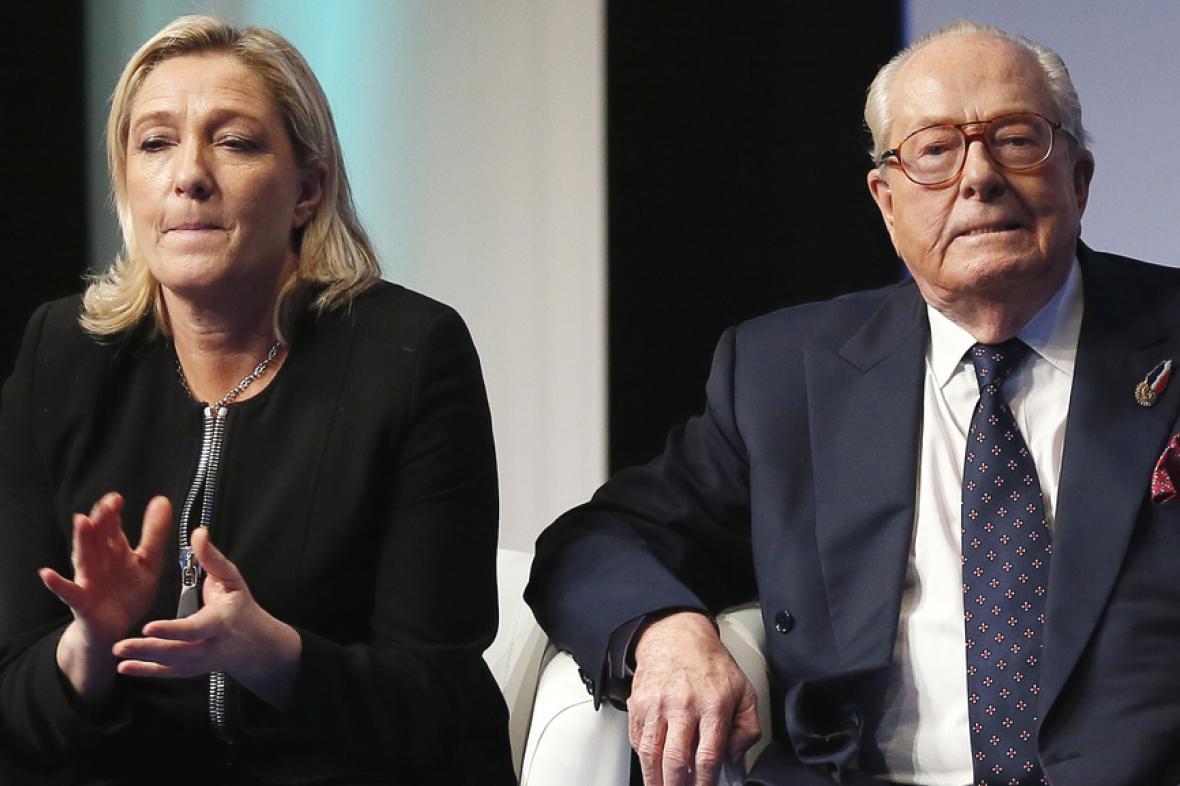 Otec a dcera Le Penovi