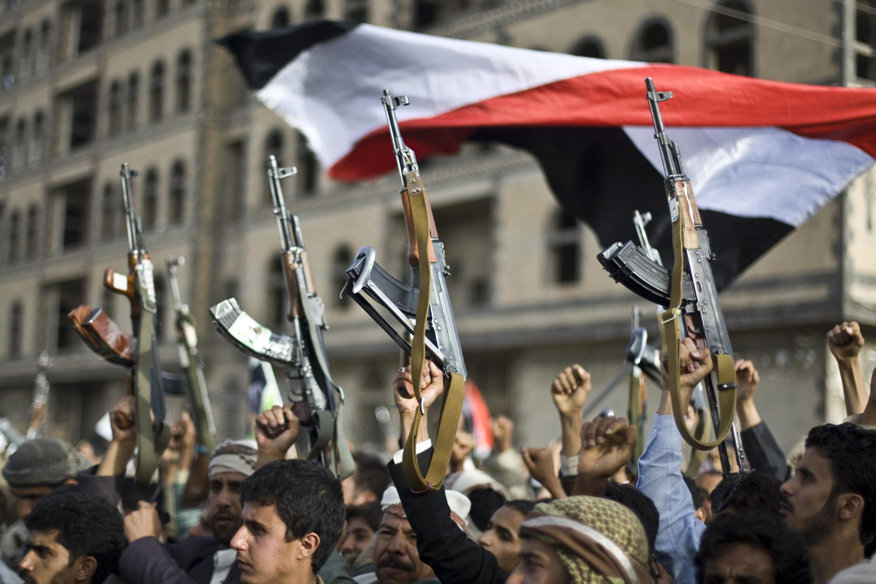 Šíitští rebelové v Jemenu