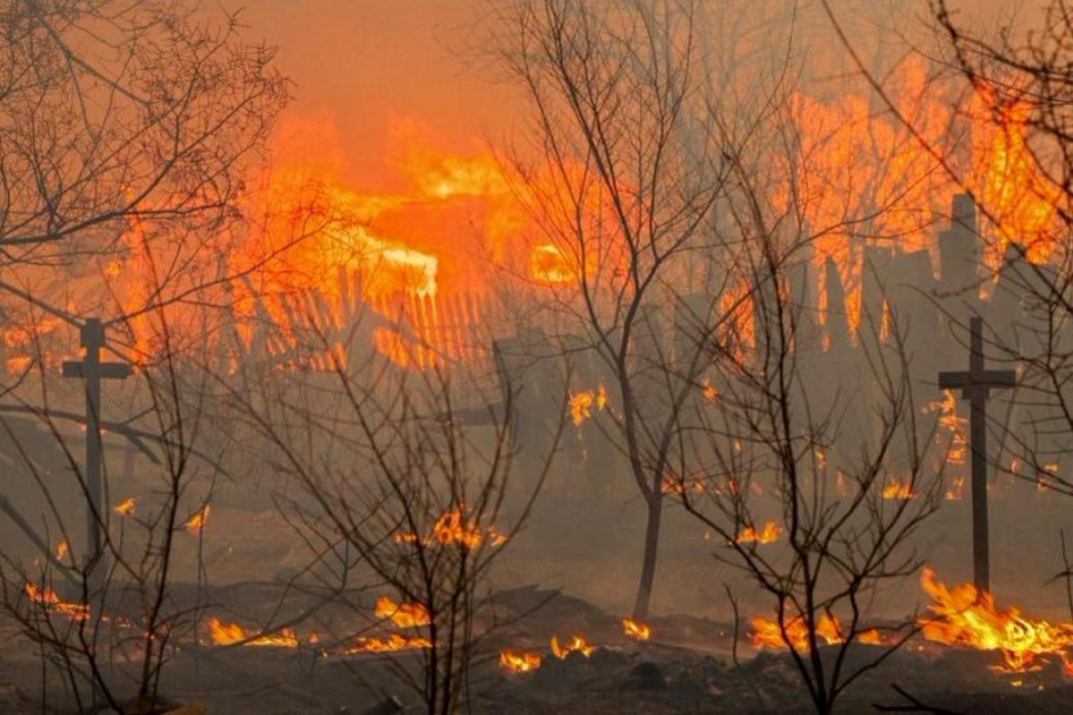 Požáry na sibiřu