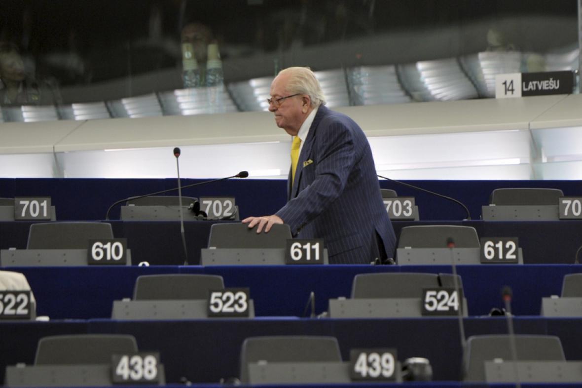 Jean-Marie Le Pen v Evropském parlamentu
