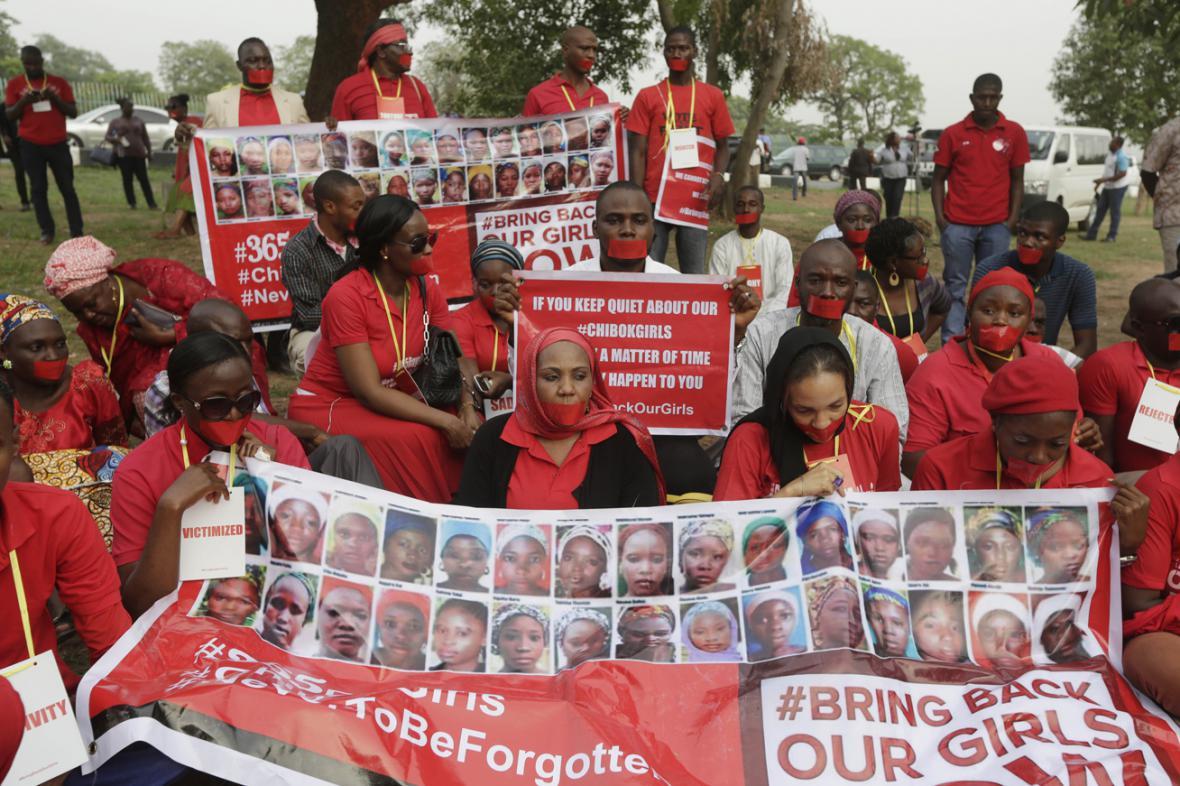 Kampaň za návrat dívek z Chiboku