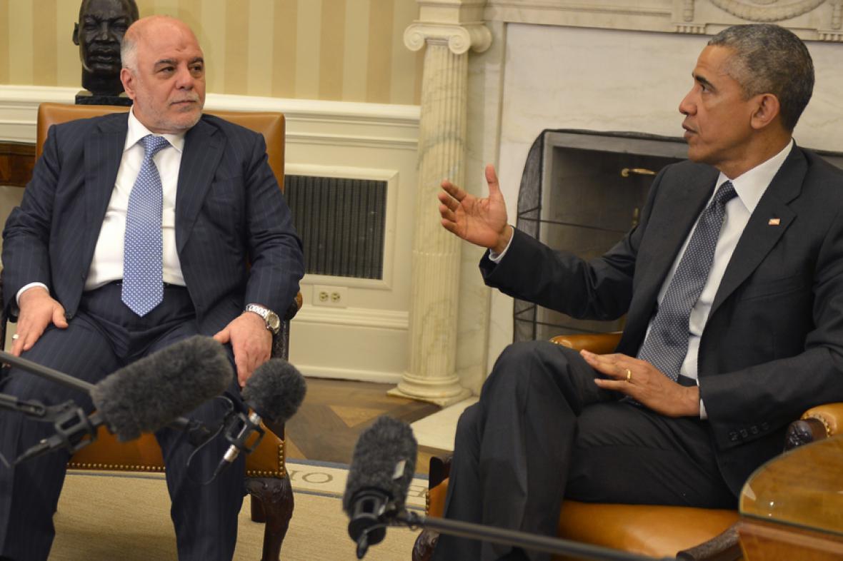 Jednání Baracka Obamy s Hajdarem Abádím