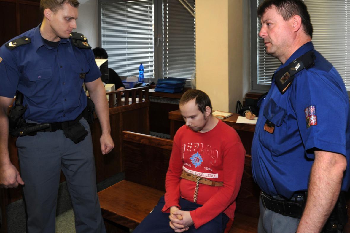 Muž obžalovaný z vraždy dívky v Klášterci