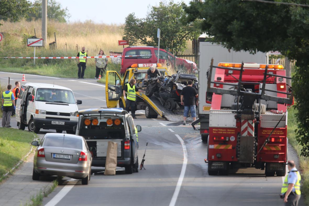 Tragická nehoda v Klimkovicích