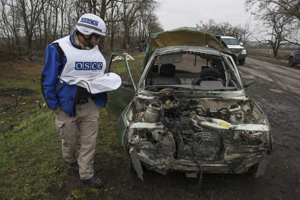 Pozorovatelská mise OBSE na Ukrajině