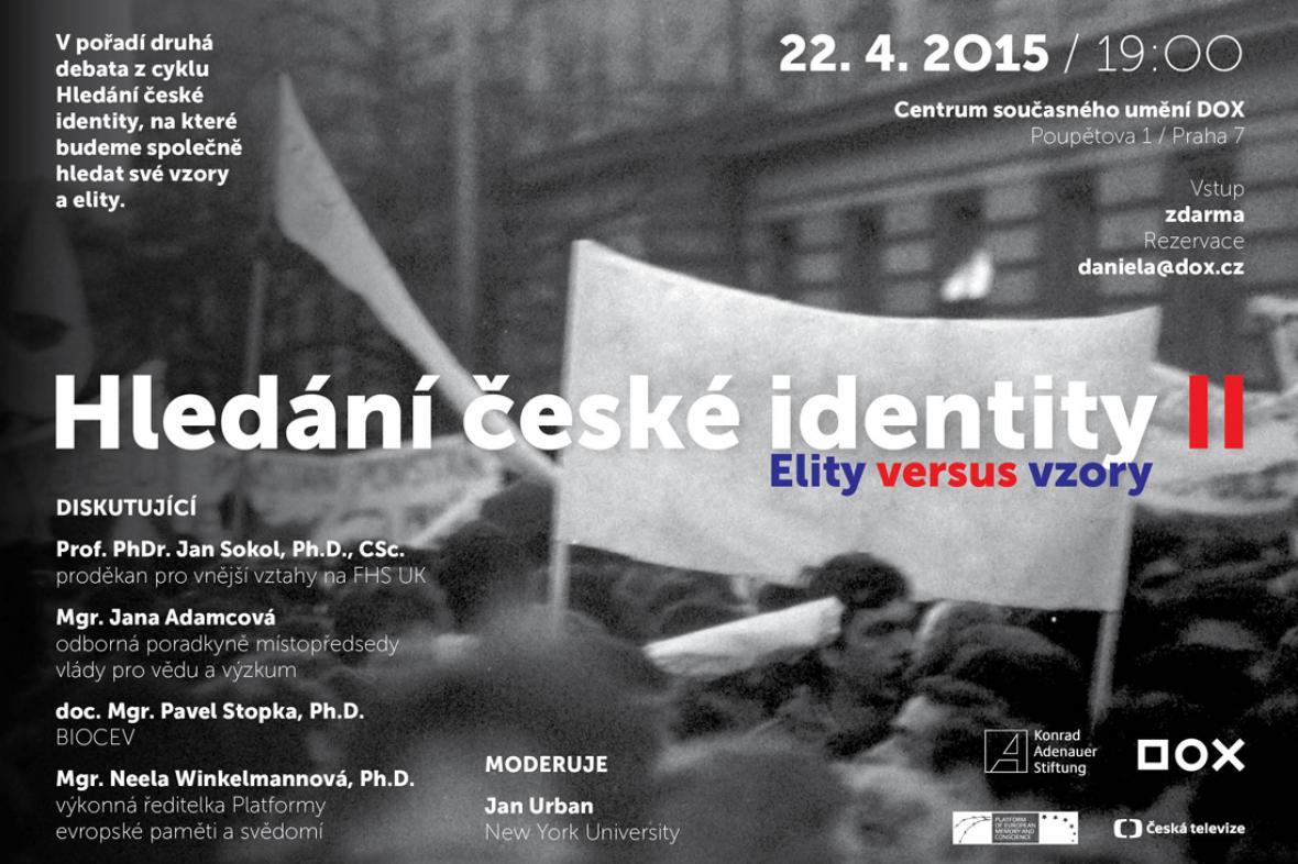 Pozvánka na diskusi Hledání české identity II