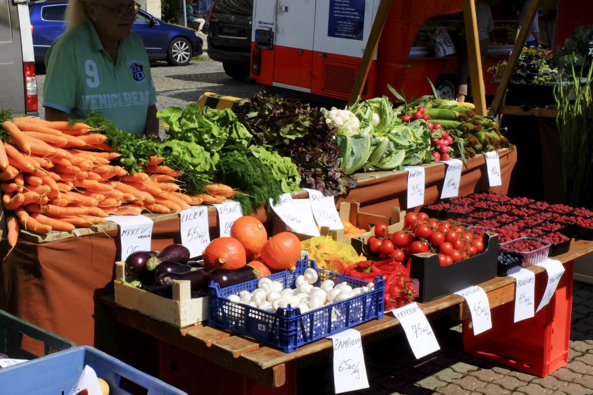 Farmáři prodávají často v kvalitě bio