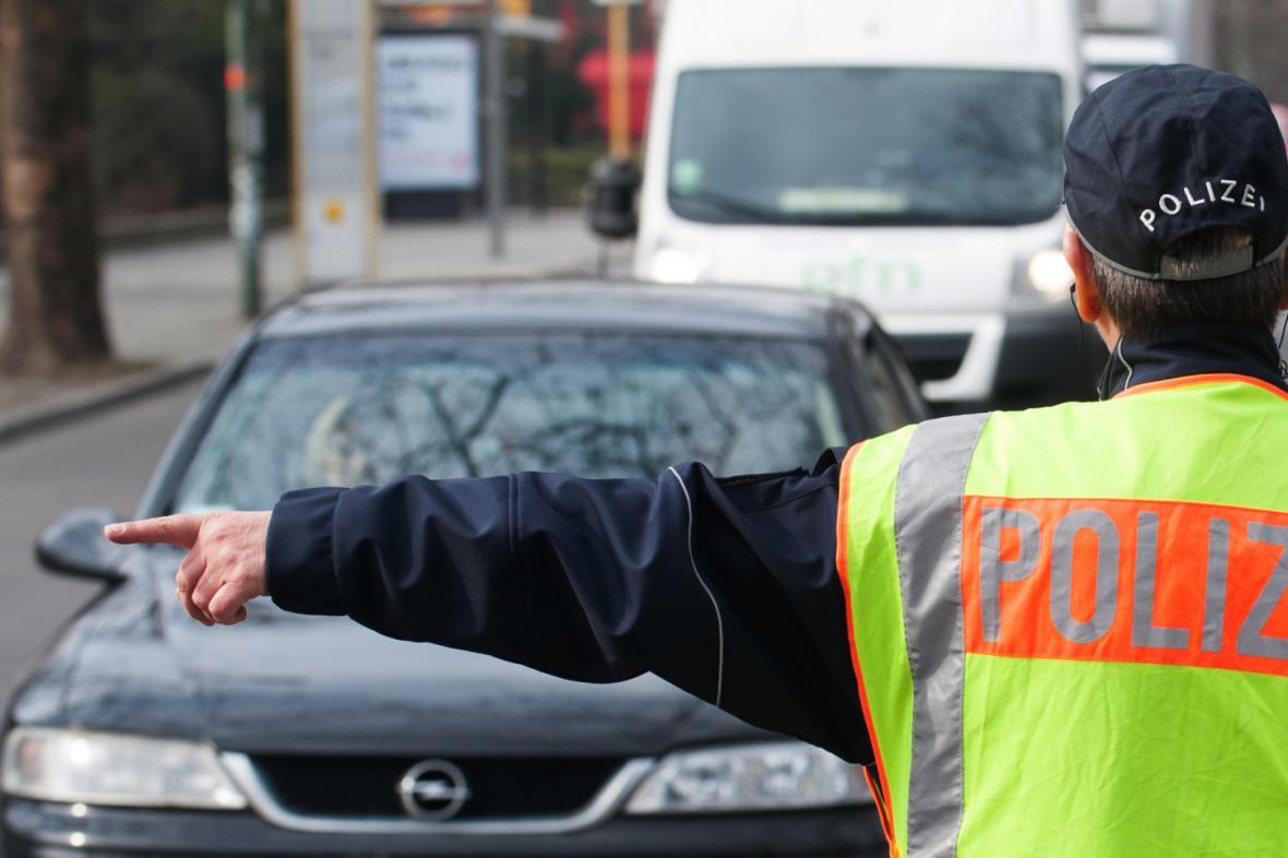 Kontroly řidičů v Německu