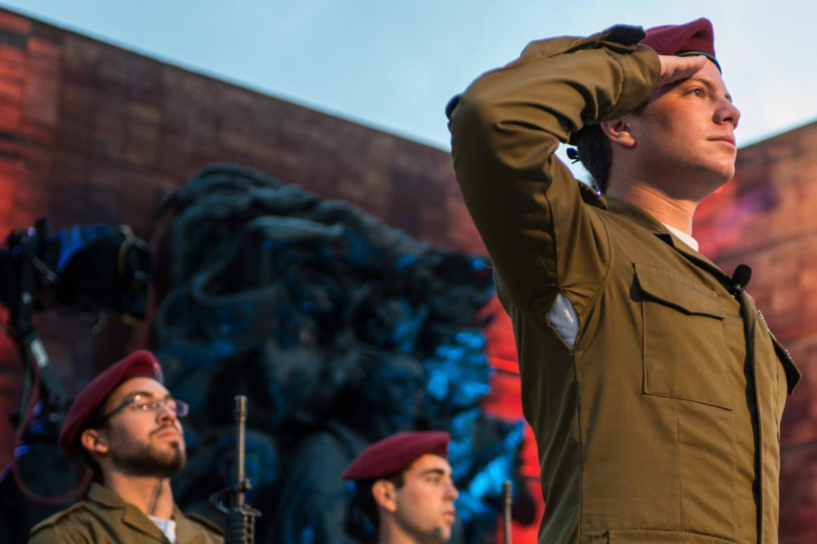 Izraelské akce k uctění památky obětí nacismu