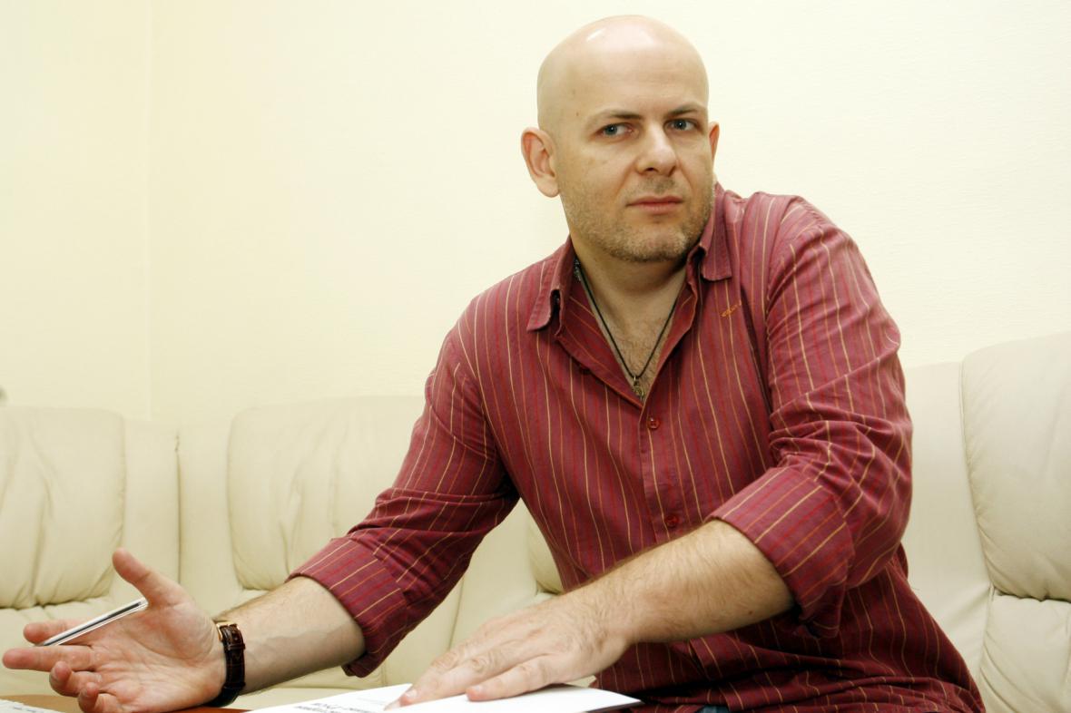 Ukrajinský novinář Oles Buzyna