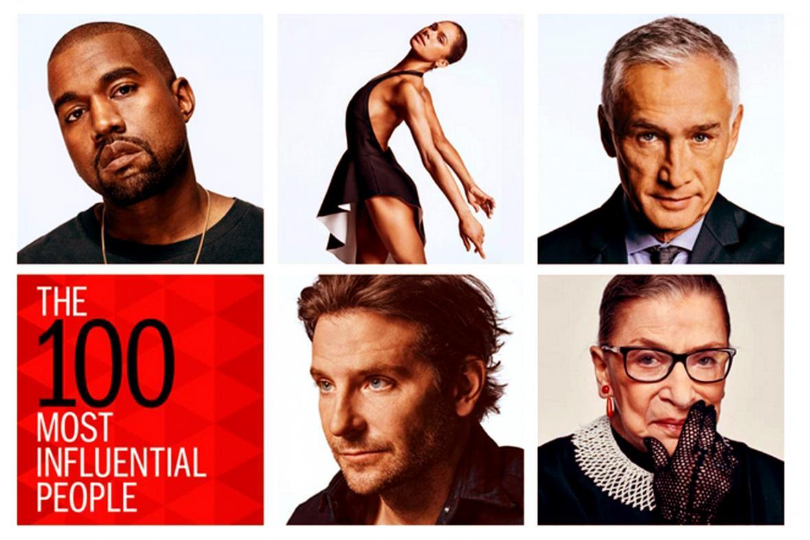 100 nejvlivnějších osobností podle časopisu Time