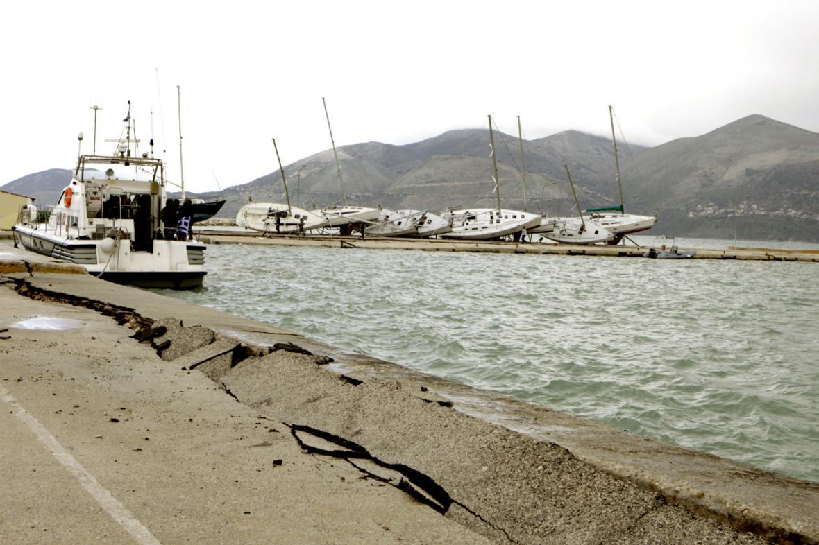 Zemětřesení na Kefalonii