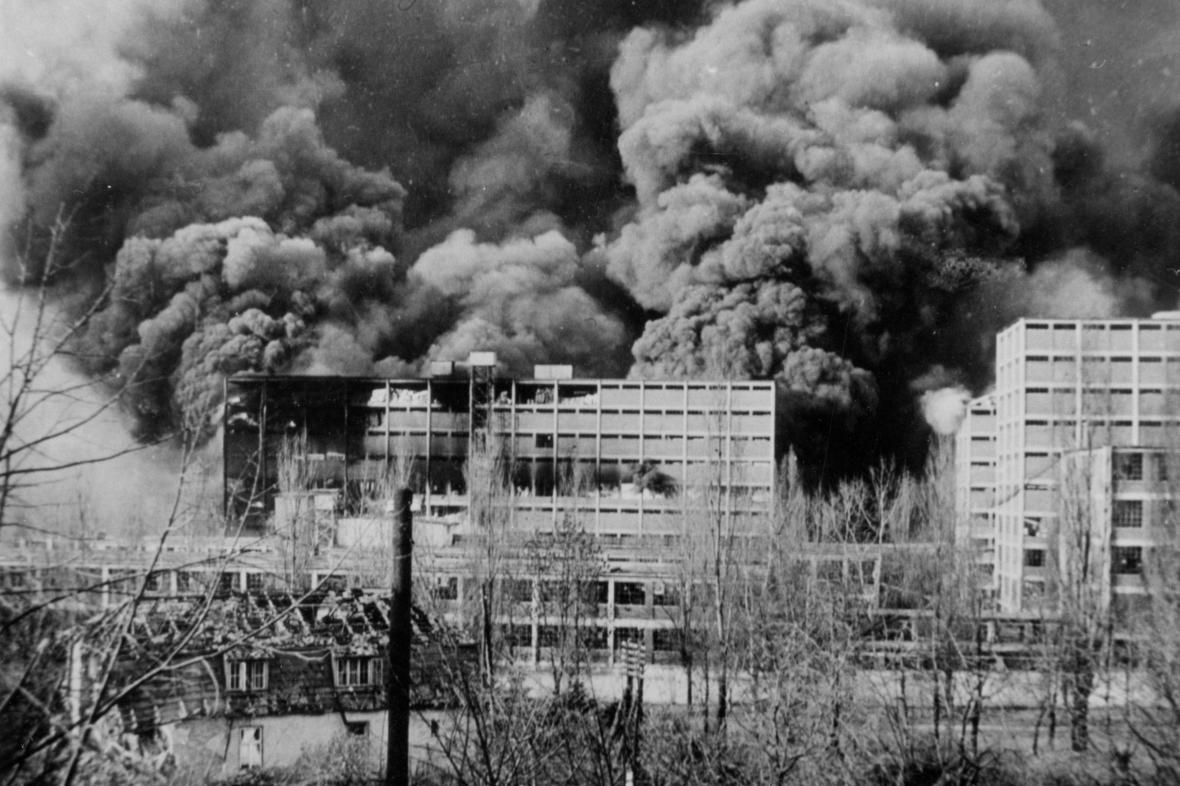 Bombardování Zlína a Baťových závodů na podzim 1944