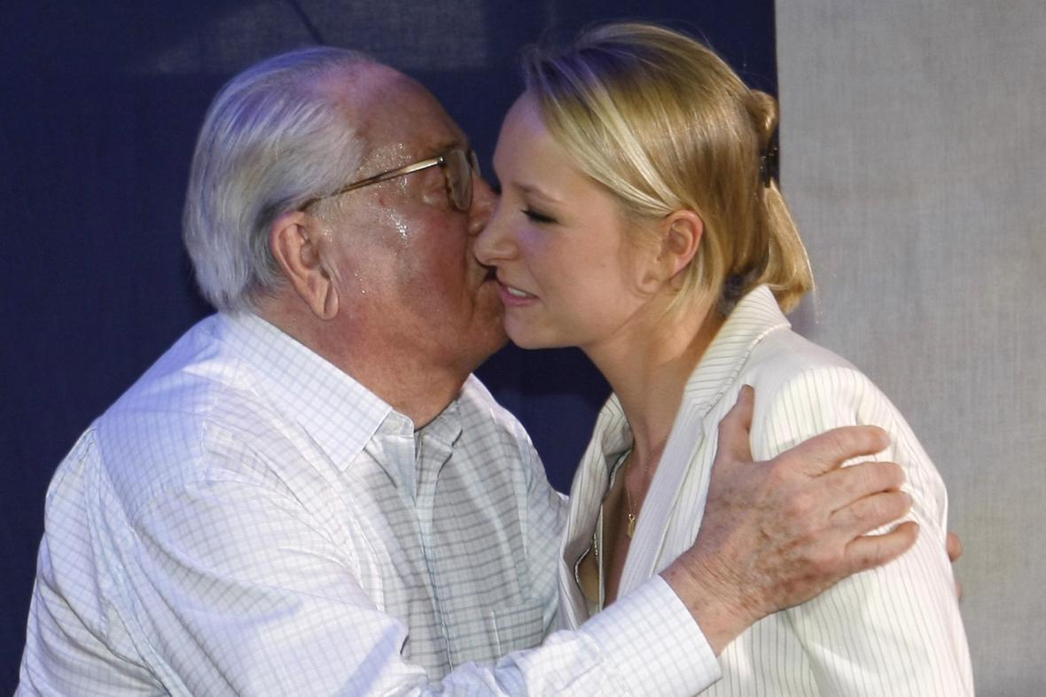 Jean-Marie Le Pen s vnučkou Marion