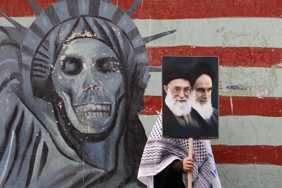 Provládní protesty v Íránu