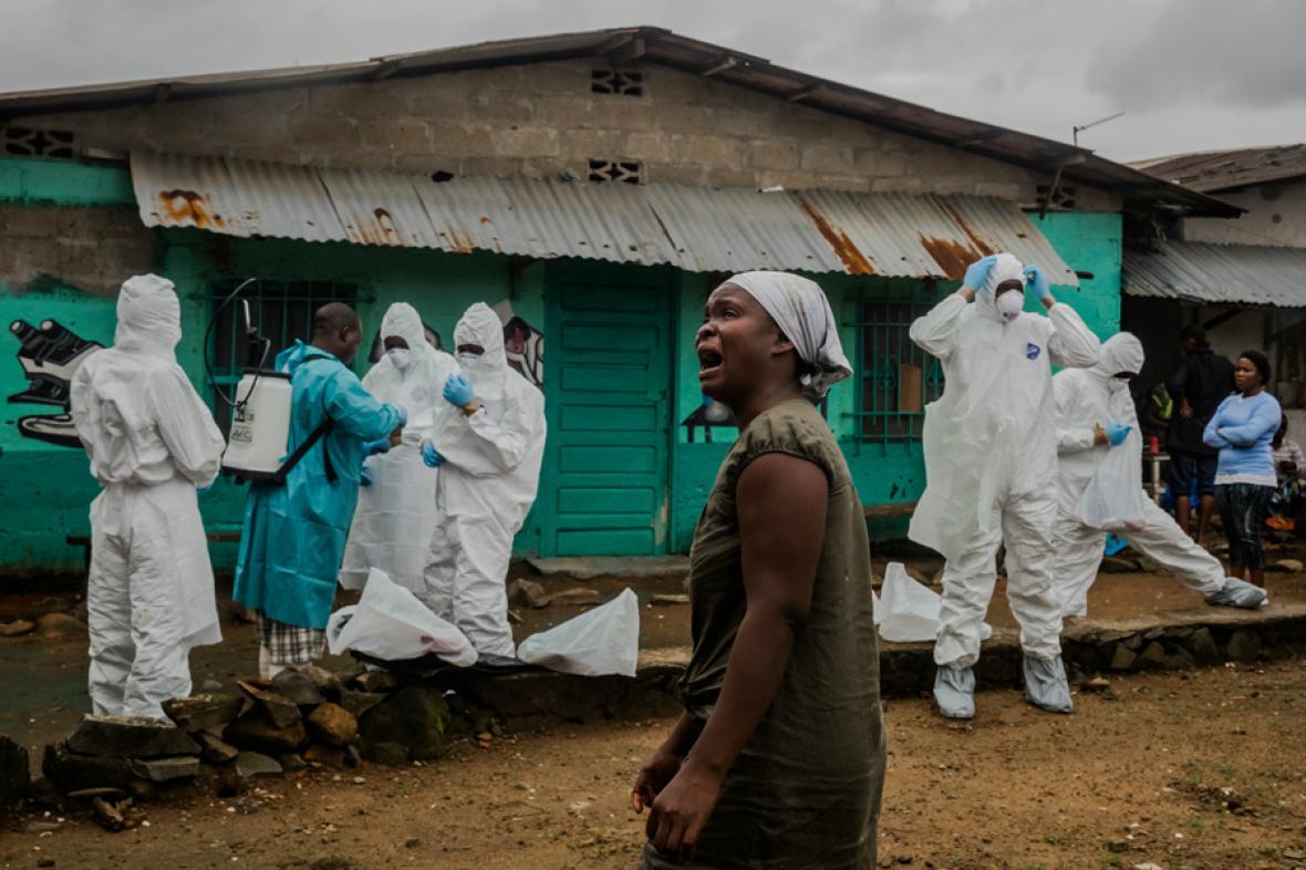 Série fotografií deníku The New York Times o epidemii eboly získala Pulitzerovu cenu