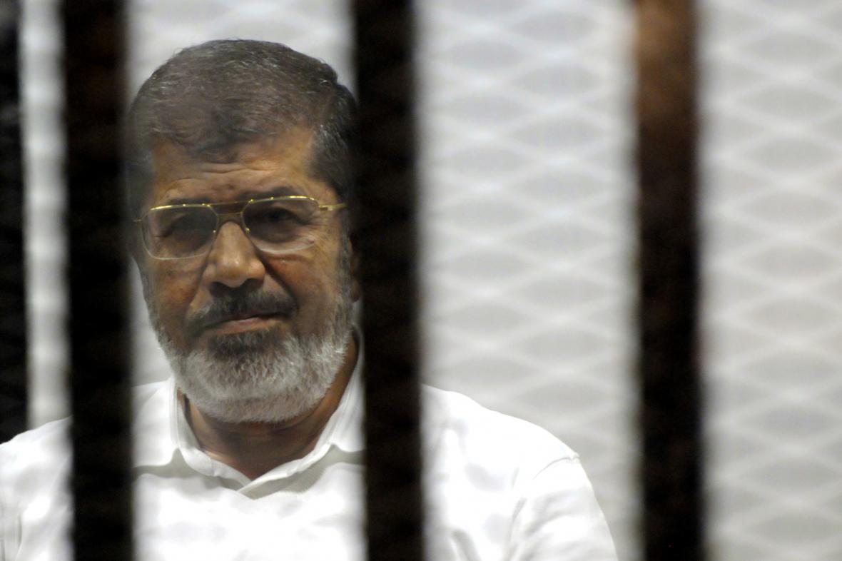 Muhammad Mursí před soudem