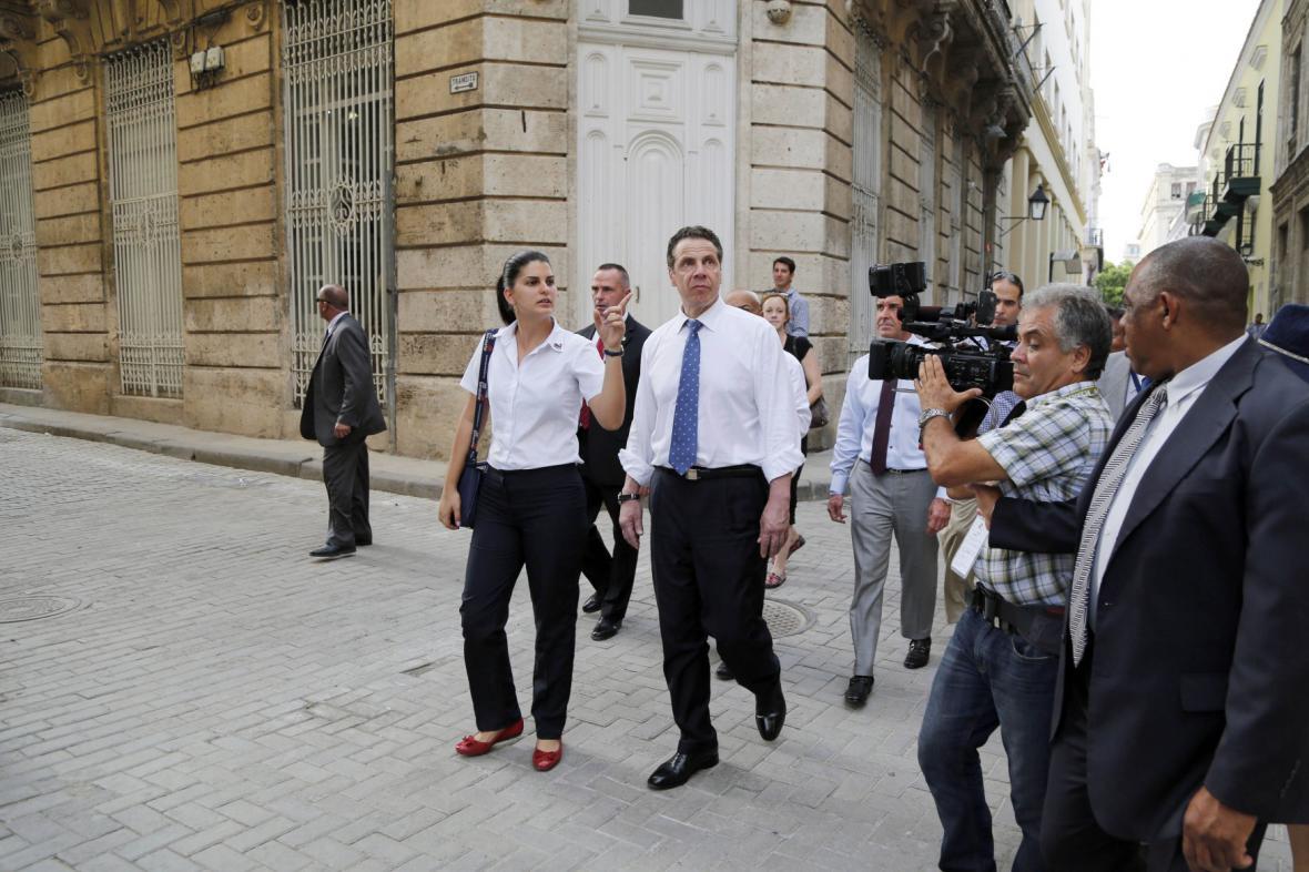 Andrew Cuomo na Kubě