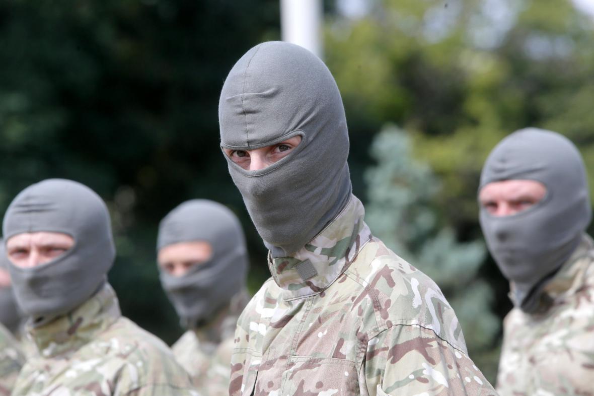 Ukrajinští dobrovolníci