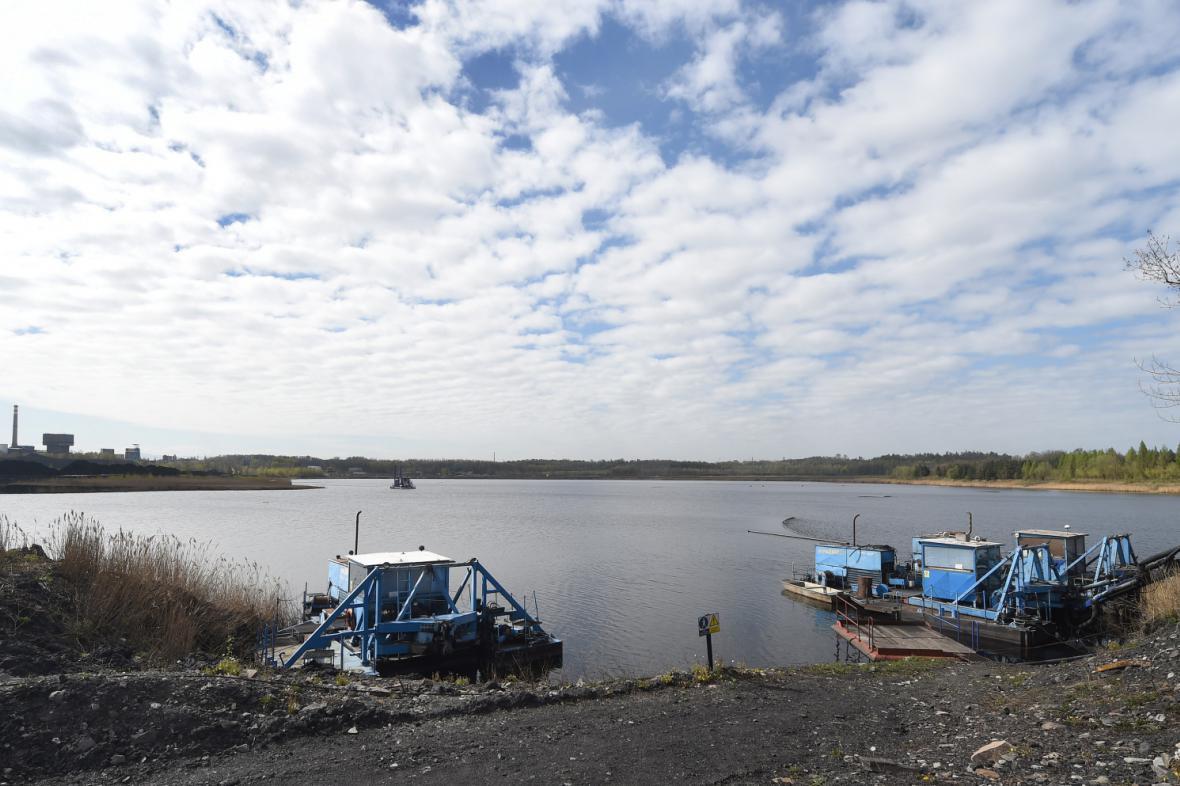 Rekultivace kalové nádrže v Doubravě