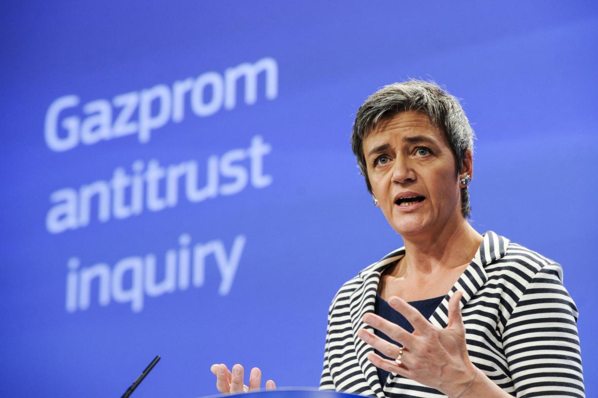 Eurokomisařka pro hospodářskou soutěž Margrethe Vestagerová