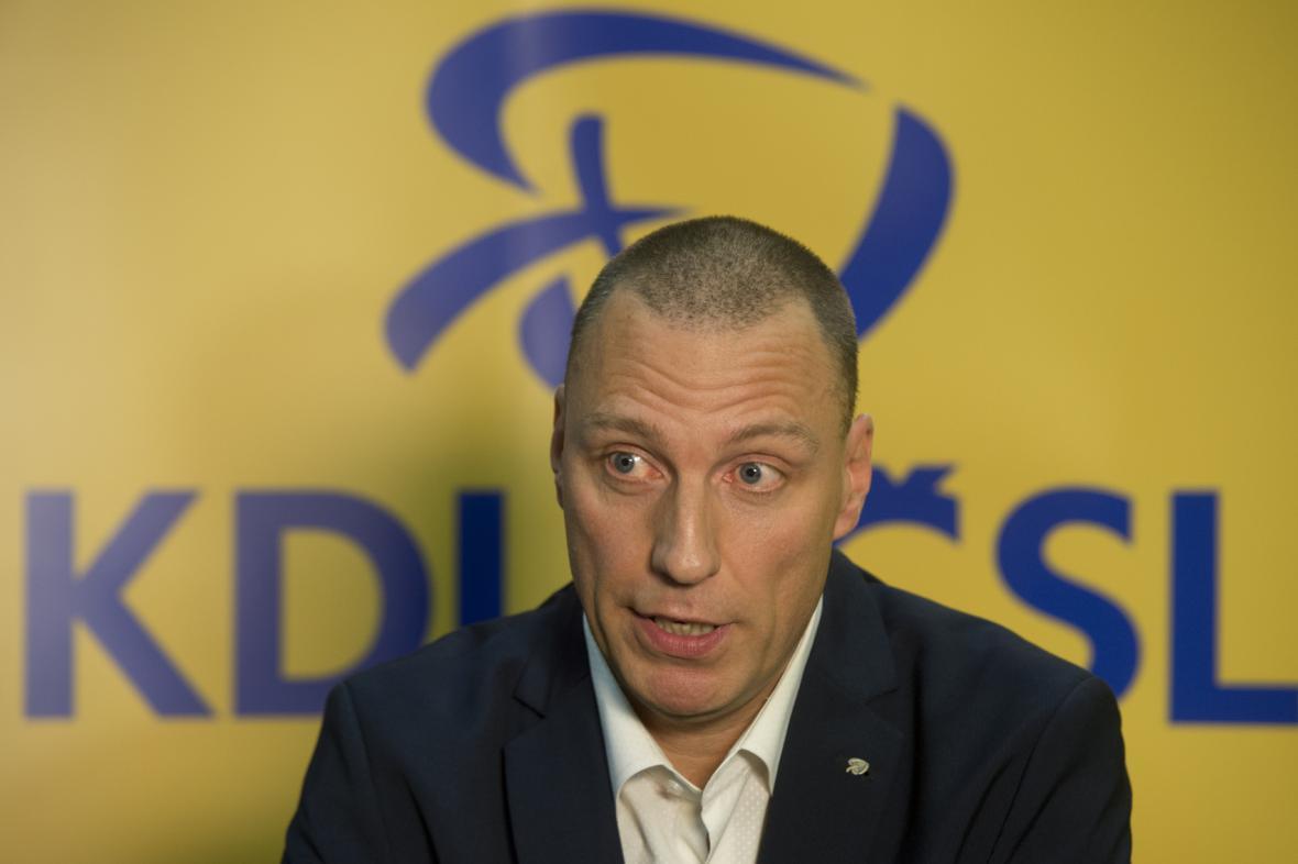 Radní a šéf pražských lidovců Jan Wolf