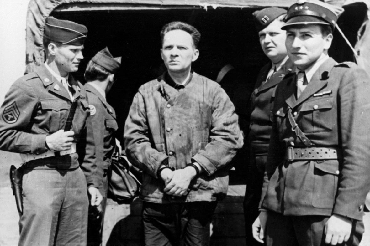 Rudolf Höss byl po válce dopaden a odsouzen k trestu smrti