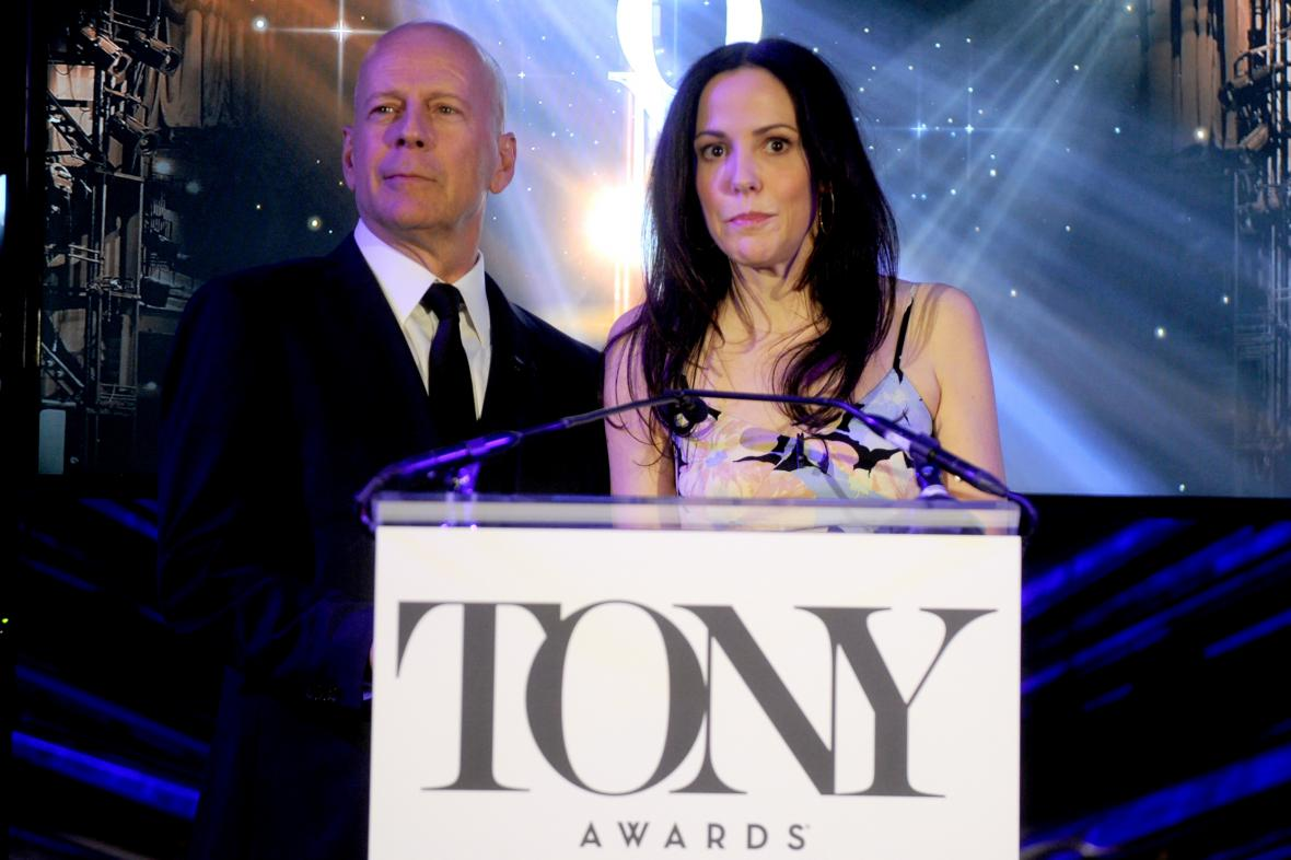 Tony Awards / Bruce Willis a Mary-Louise Parker