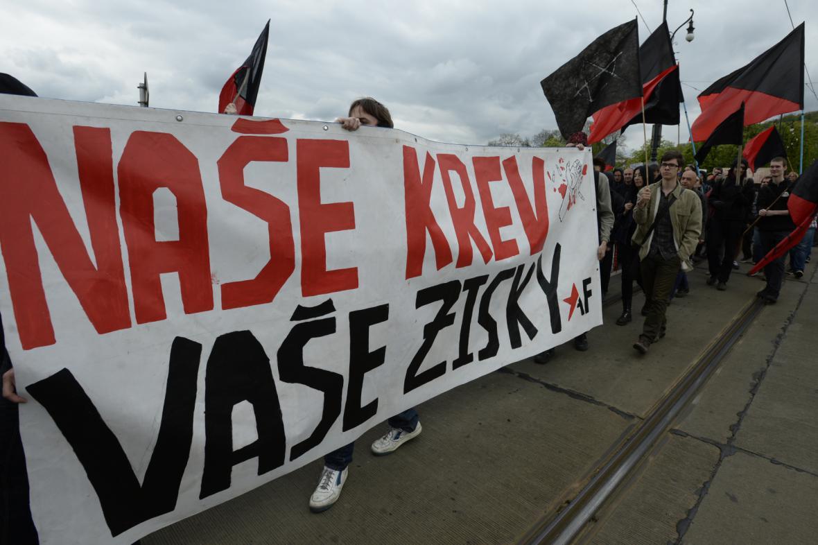 Pražský pochod anarchistů